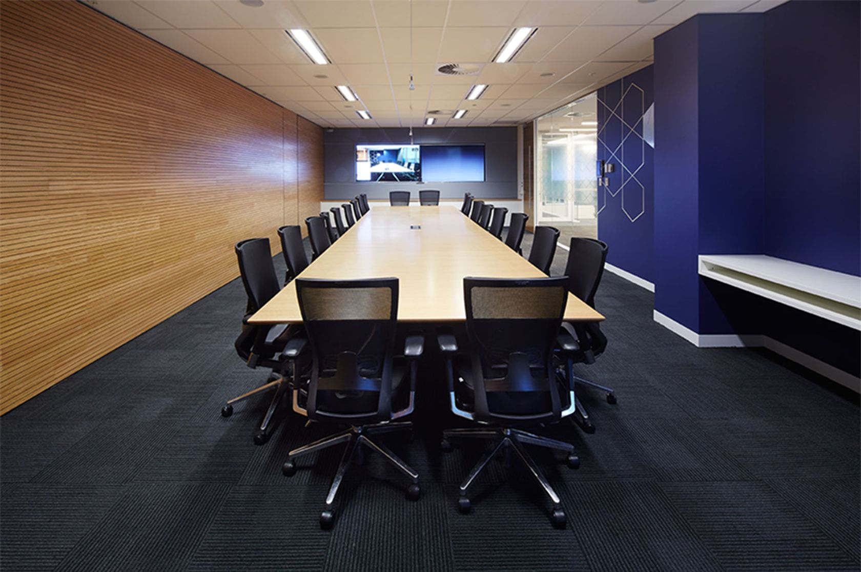 AbbVie conference room in the Australia location.